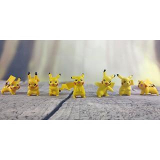 Bộ sưu tập quái thú nhỏ Pikachu Tomy