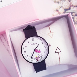 Đồng hồ thời trang Candy mèo Kute cho bé