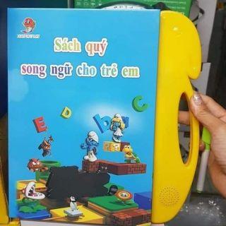 Sách nói Song ngữ Anh-Việt cho bé từ 2 đến 11 tuổi