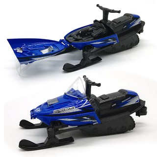 Snow Motorcycle Toy Snowmobile Car Toy Cute Sledges Blue Winter