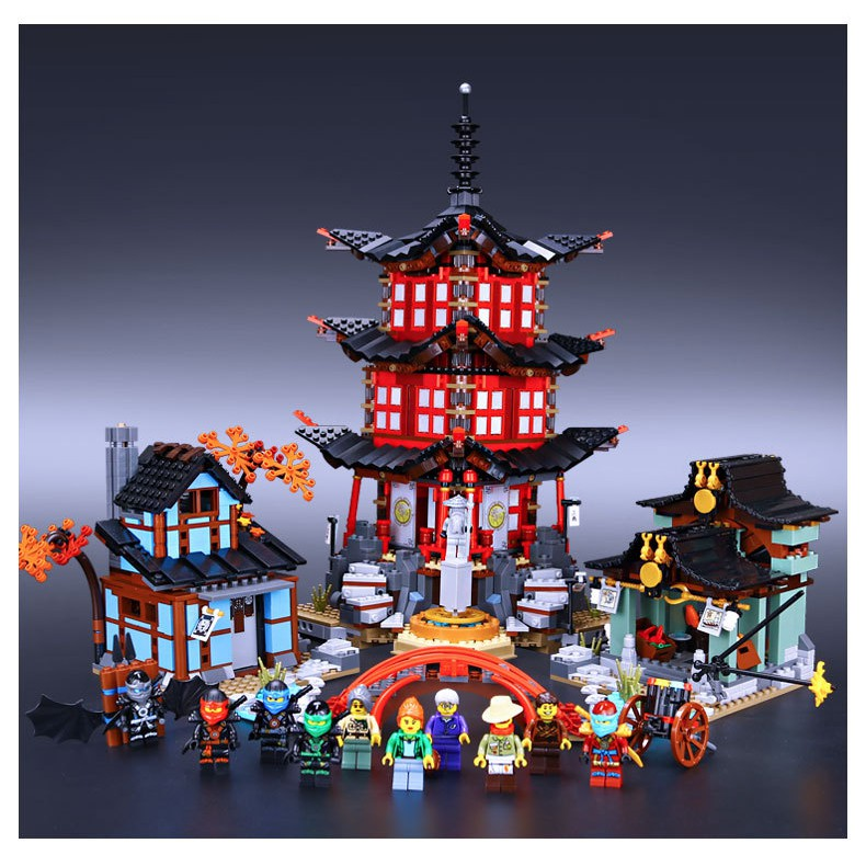Bộ đồ chơi Lego Ninjago 82022 - Temple of Airjitzu - Ngôi Đền Airjitzu