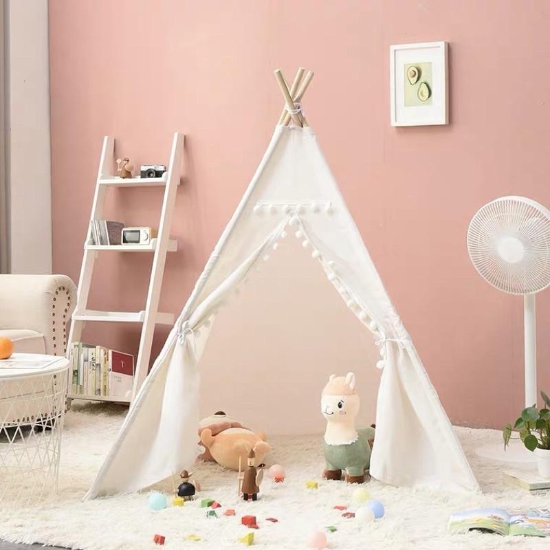 Lều gỗ cho các bé