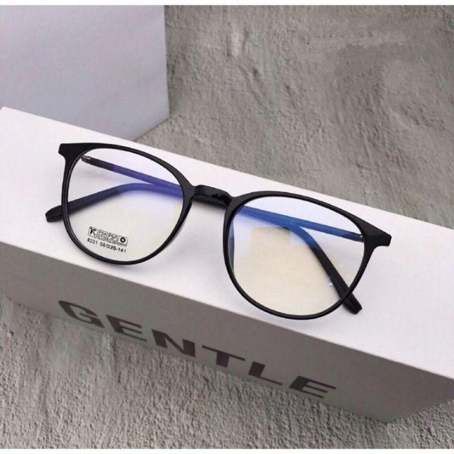 Gọng Kính Cận Nhựa Dẻo Kính Mắt Tròn Nobita