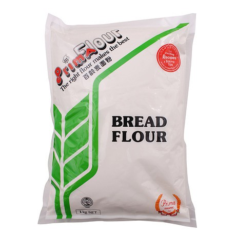 Bột làm bánh mì không tẩy Prima 1kg
