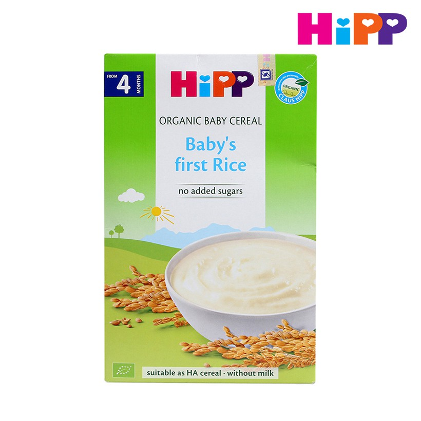 Bột gạo nhũ nhi (200g) HiPP (Cho trẻ từ 4 tháng tuổi) 2769