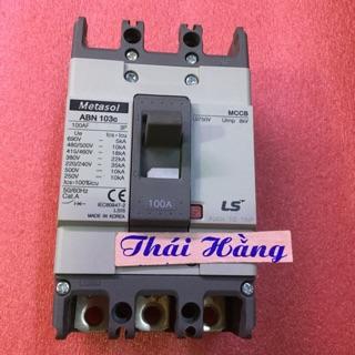Attomat Metasol ABN -103 C -3 pha 100A