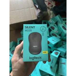 Chuột Không Dây Chống ồn Logitech M220 – Chuột Không Tiếng Ồn