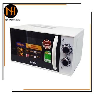 [Hàng mới về]Lò vi sóng 20L Matika MTK-9220 có 3 chức năng Nướng, hâm nóng, rã đông thức ăn tự cài đặt theo trọng lượng thumbnail