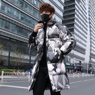 Áo khoác phao dày dặn dáng dài thời trang mùa đông cho nam giới