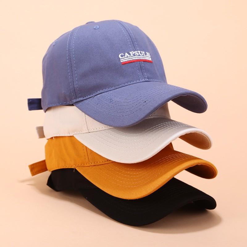 Mũ lưỡi trai thêu họa tiết phong cách vintage cá tính dành cho cả nam và nữ