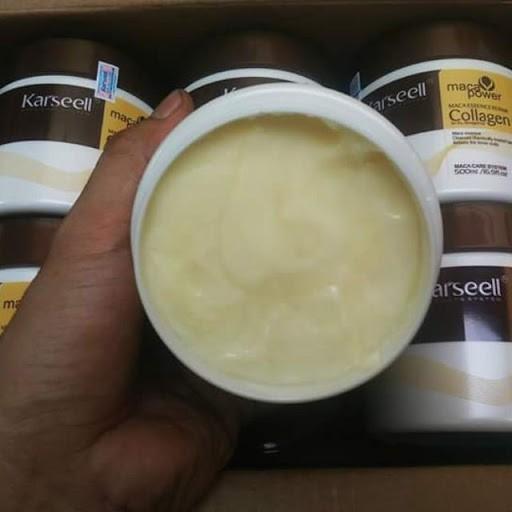 Dầu Hấp - Ủ- Xả Phục Hồi Tóc Collagen Karseell Maca Dạng Hũ 500ML CHÍNH HÃNG