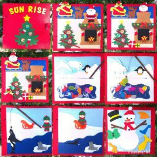 Sách vải chủ đề Giáng sinh