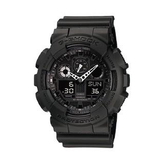 Đồng Hồ Nam Casio G-Shock GA-100-1A1DR Chính Hãng - Dây Nhựa G-Shock GA-100-1A1 All Black thumbnail