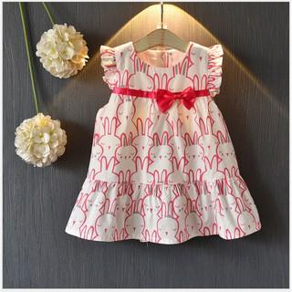 váy thỏ nơ hồng