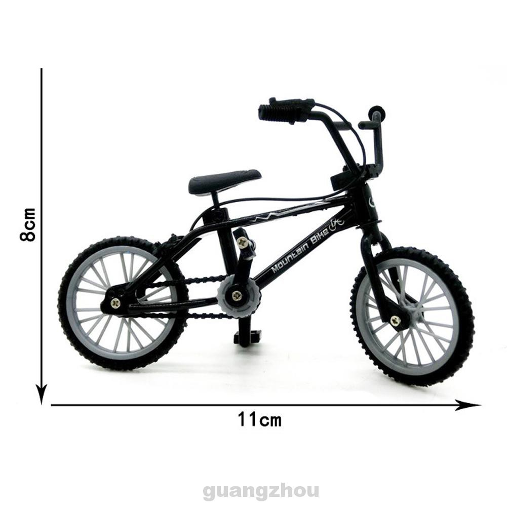 Gift Home Decoration Simulation Retro Office Collection Kids Toy Mini Alloy Bicycle Model