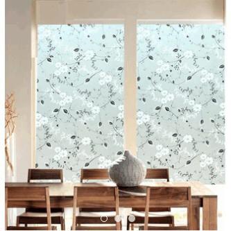 Cuộn 5M PVC giấy dán kính mờ ( KHỔ 45CM ) – HỌA MỰC LK078