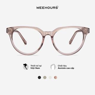 Gọng kính cận nữ WeeHours BAE , dáng mắt mèo thời trang, nhựa Acetate cao cấp thumbnail
