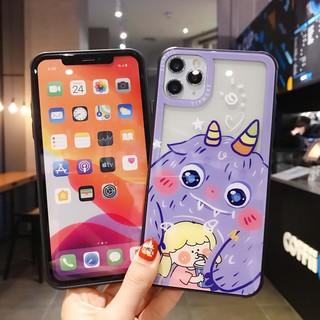 Ốp Điện Thoại Hình Quái Vật Ngộ Nghĩnh Cho Iphone Xs Max Xr I8 I7 I6 6s Plus