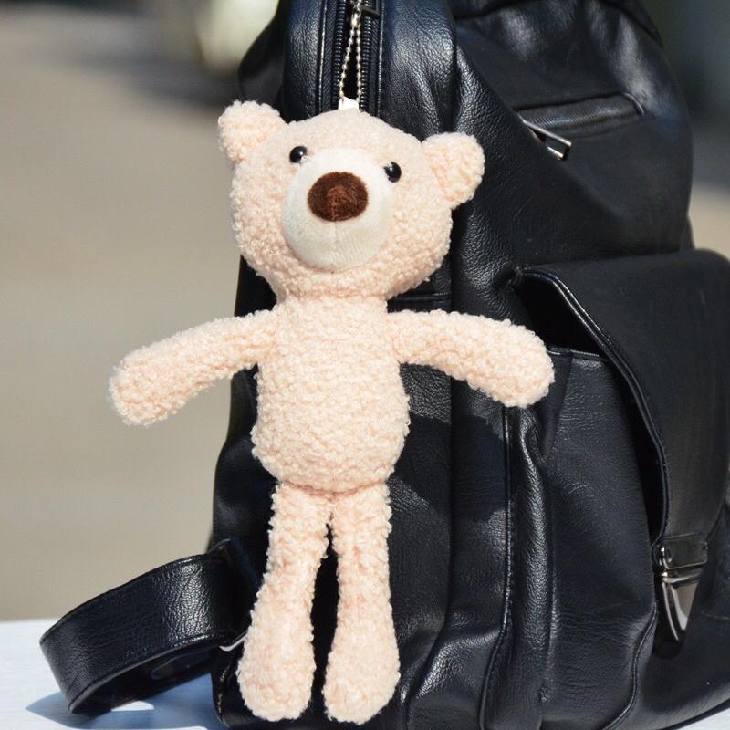 Móc Khoá Móc, Móc Cài Balo Hình Gấu Bear Dài Siêu Xinh