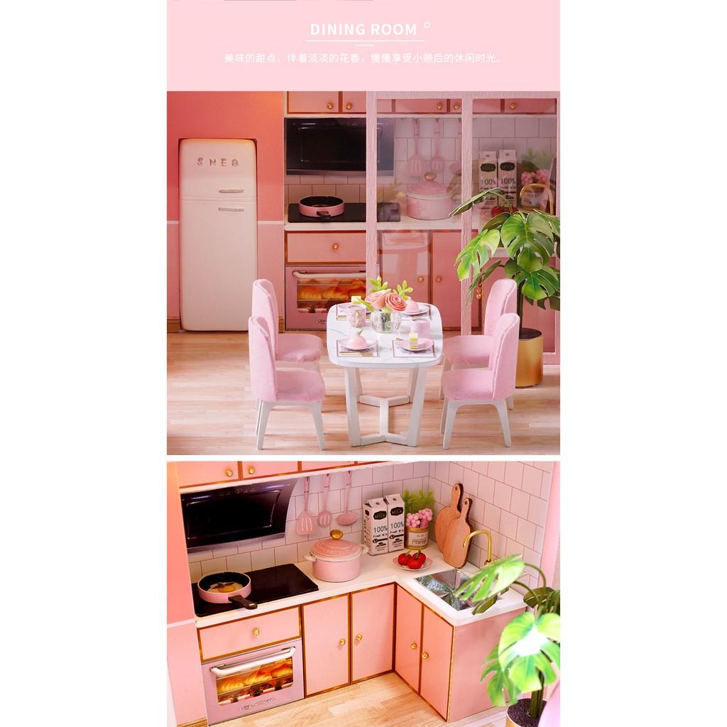 Nhà Búp Bê DIY - Meeting Your Sweet L027 (Tặng mica + keo)