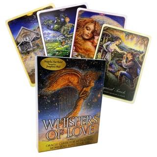 Bộ 54 Thẻ Bài Trò Chơi Whisper Of Love Oracle