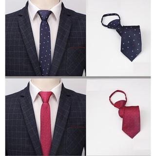 Cà vạt Nam bản nhỏ 6.5cm thời trang phong cách Hàn Quốc (CV661-CV670) {Phụ kiện Vest Nam – AdamZone}