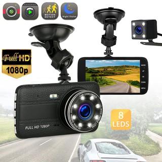 Camera Hành Trình Xe Hơi 2 Lens Trước- Sau Hỗ Trợ Hồng Ngoại Ban Đêm 1080P Elitek 2570