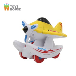 Mô hình máy bay trượt đà Toyshouse chính hãng - đồ chơi nhập vai, hướng nghiệp cho bé thumbnail
