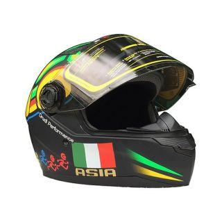 Mũ bảo hiểm fullface ASia tem rùa - Hàng chính hãng