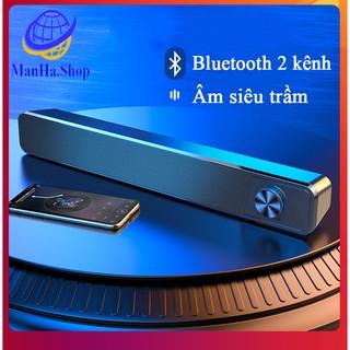 Loa bluetooth máy tính tích hợp dùng cả điện thoại G18, Loa dùng cho cả máy tính vi tính điện thoại cầm tay thumbnail