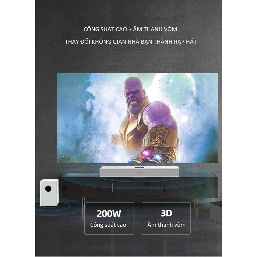 Loa Soundbar 5.1 Karaoke cao cấp Amoi L9 Kèm 2 Micro không dây - Tặng bộ  pin sạc cho Micro- Có Thể Lựa chọn thêm SUB Out