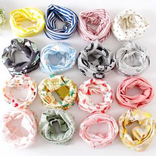 [Mã FASHIONHOT2 hoàn ngay 10k xu đơn từ 50k] Khăn ống quấn cổ đa năng cotton giữ ấm cho bé phong cách Hàn Quốc