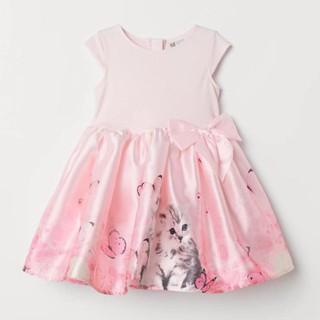 VáyHM nơ mèo hồng ❤️ FREESHIP ❤️ [Xuất xịn] VáyHM nơ mèo hồng cho bé