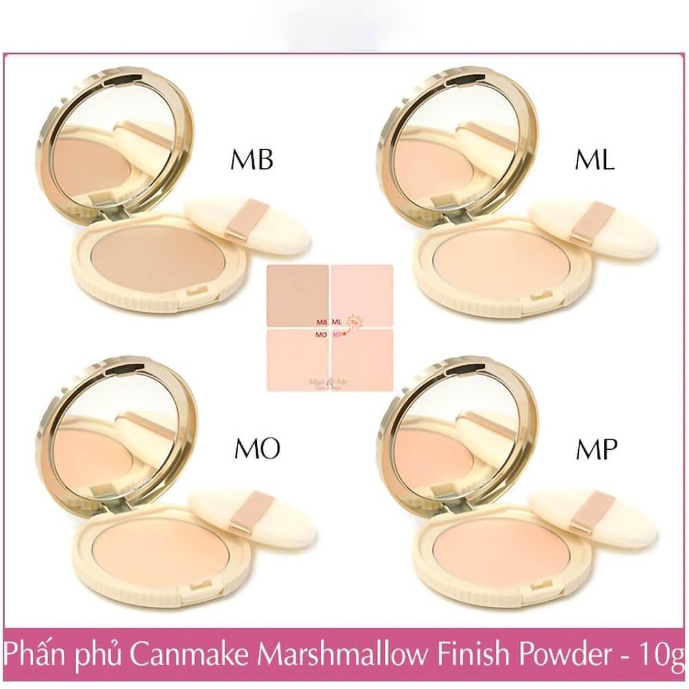 Phấn phủ Canmake Nhật Bản Marshmallow Finish Powder