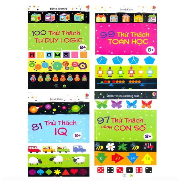 Sách - Combo 4 cuốn phát triển tư duy cho bé (6 - 13 tuổi)