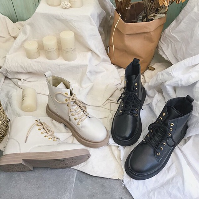 [ORDER TAOBAO] Giày boots cao cổ ulzzang