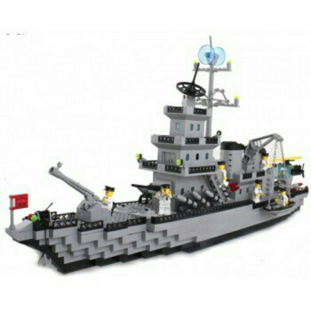 Lego tàu chiến 2in1 370chi tiết