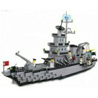 LEGO tàu chiến hải quân ARMY 370 chi tiết