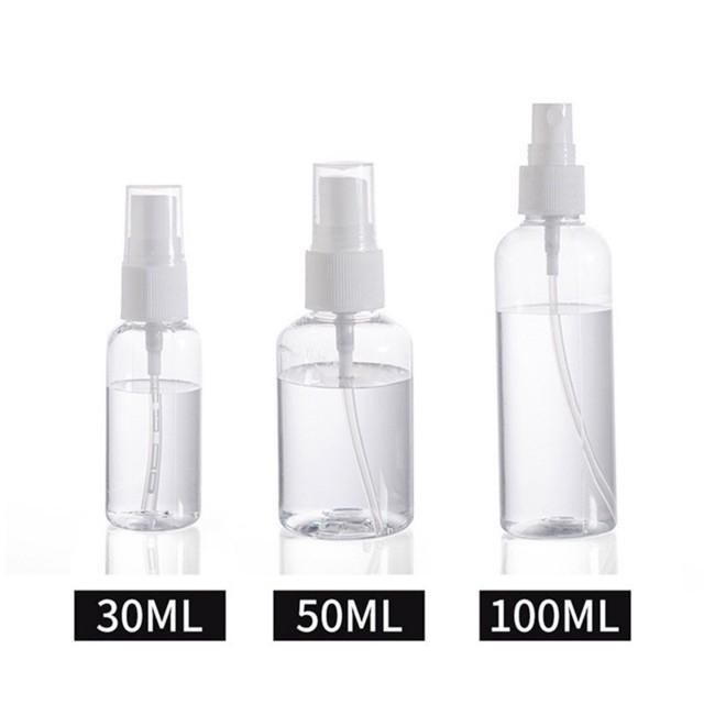 Bình đựng gel rửa tay/dầu dừa/mỹ phẩm dạng xịt phun sương dung tích 100ml