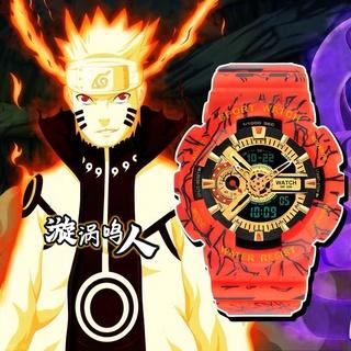 Đồng Hồ Điện Tử Thể Thao In Hình Naruto / One Piece / Kỳ Lân Rb2I Cho Nam Và Nữ
