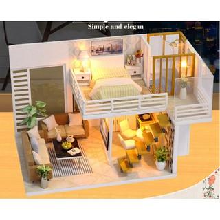 """Nhà búp bê DIY – Simple and Elegant – """"Đơn giản và Trang nhã"""""""