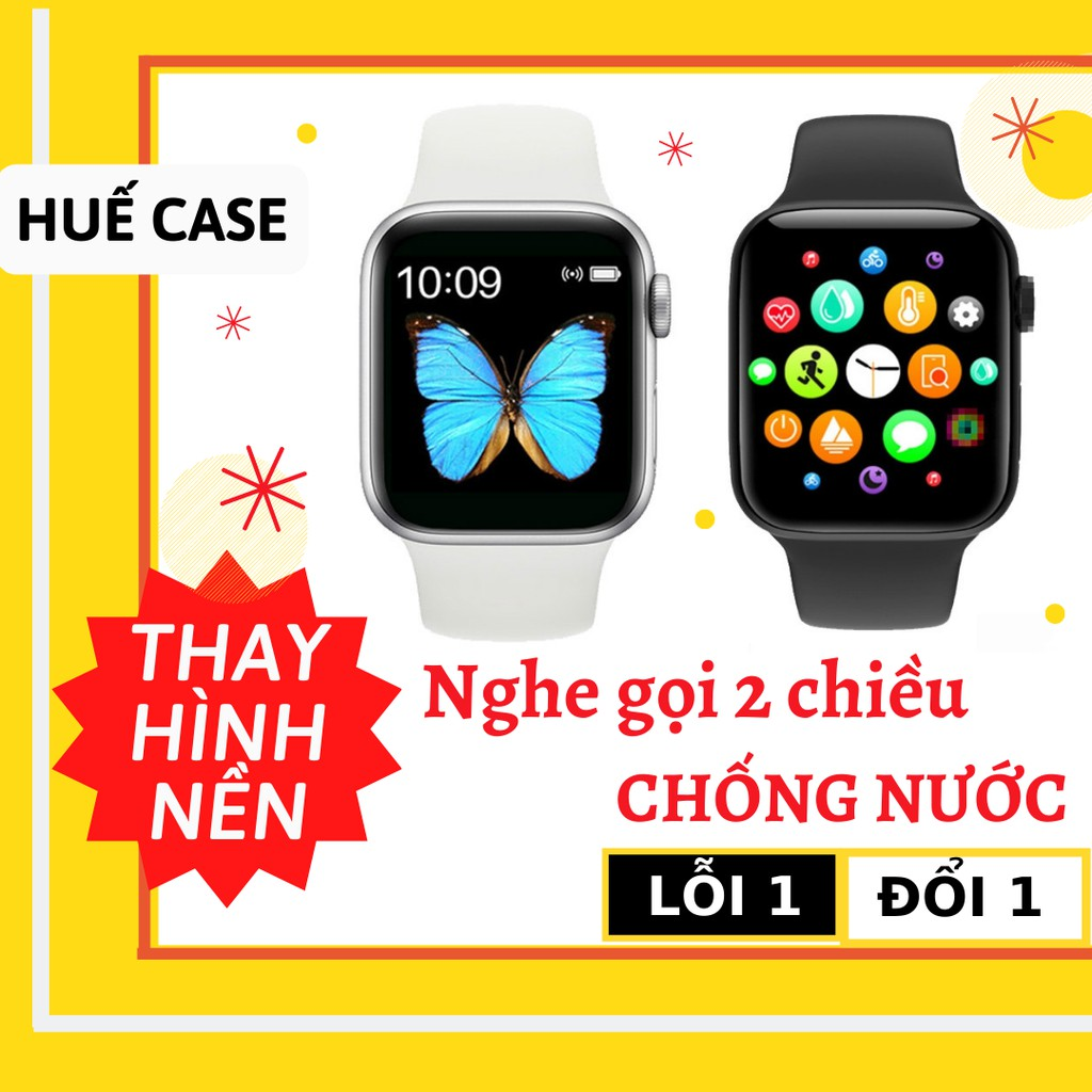 Đồng hồ thông minh 💕 Giảm 15k Smart watch khi nhập [ MGG] 💕 Thời trang nam nữ cảm ưng vân tay như apple watch