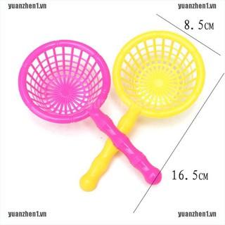 【YUANZHEN1】2pcs 16.5cm Plastic Kids Fishing Nets Fishing Accessories Kids Outd