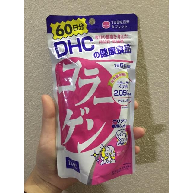 Viên uống collagen DHC 60 ngày 360 viên