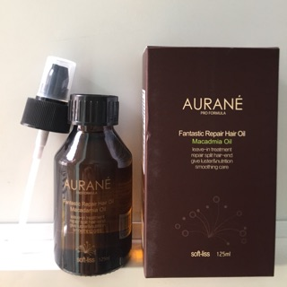 (Giá sỉ) Tinh Dầu Dưỡng Tóc Softliss Aurane Macadamia hair oil 125ml thumbnail