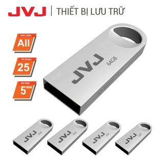 USB 64Gb/32Gb/16Gb/8Gb/4Gb 2.0 JVJ S3 siêu nhỏ vỏ kim loại -  tốc độ tiêu chuẩn chống nước