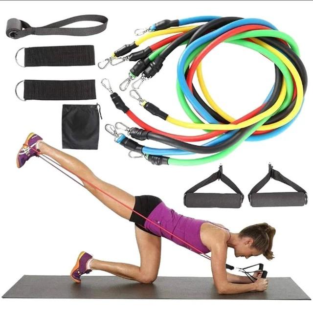 Dây Tập Ngũ Sắc Full Body Tập Gym( bộ 5 dây) thumbnail