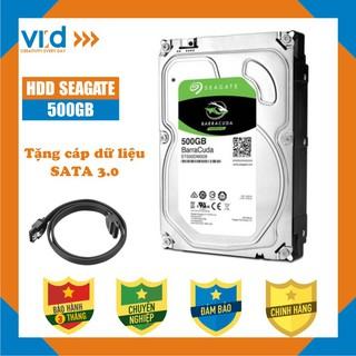 Ổ cứng HDD 500GB Seagate Skyhawk - Tặng cáp SATA 3.0 - Bảo hành 3T