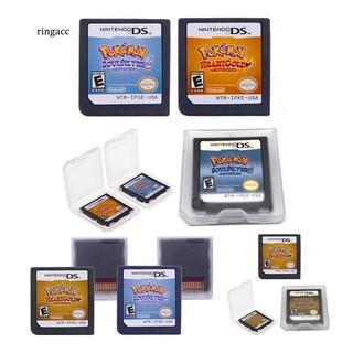 Thẻ trò chơi Pokemon tương thích với Nintendo DS 3DS NDSI NDS Lite thumbnail