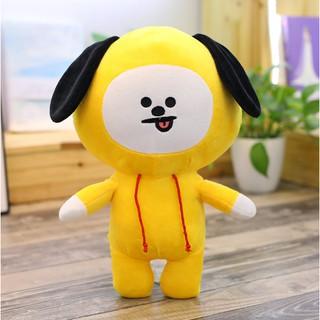 Gấu bông mini Chimmy BT21- BTS (vàng)